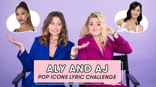 Aly & AJ Sing Taylor Swift, Ariana Grande, and More Songs | Lyric Challenge