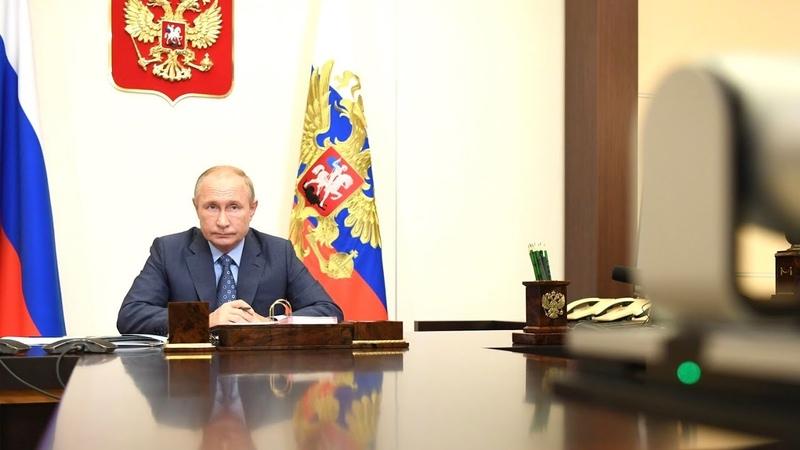 Путин пошутил про возникновение COVID 19 Президент провёл заседание Совета по культуре и искусству