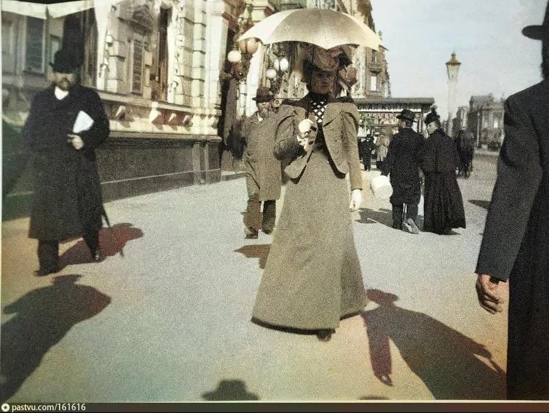 Эксклюзивные цветные фотографии Петербурга начала 20 века - часть 2, изображение №3
