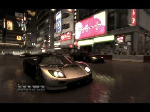 Race Driver Grid. GT1. Koenigsegg. Shibuya. Extrem..