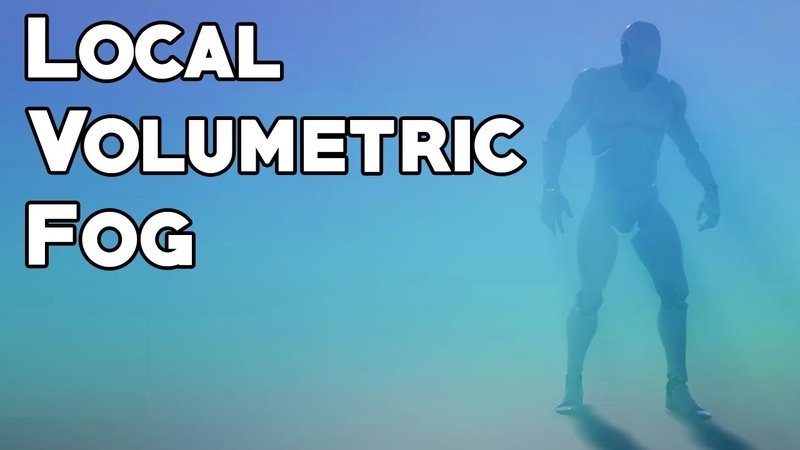 UE4 Tutorial Local Volumetric Fog