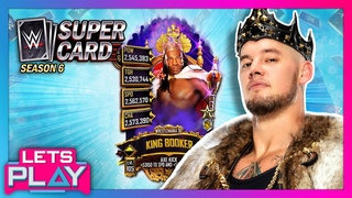 KING CORBIN reacts to his new King of the Ring-themed card in WWE SuperCard!