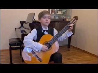В контакте с гитарой Золотов Лев