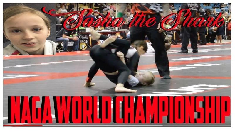 Kids Jiu Jitsu 2016 NAGA WORLD CHAMPIONSHIPS Girls NOGI BJJ