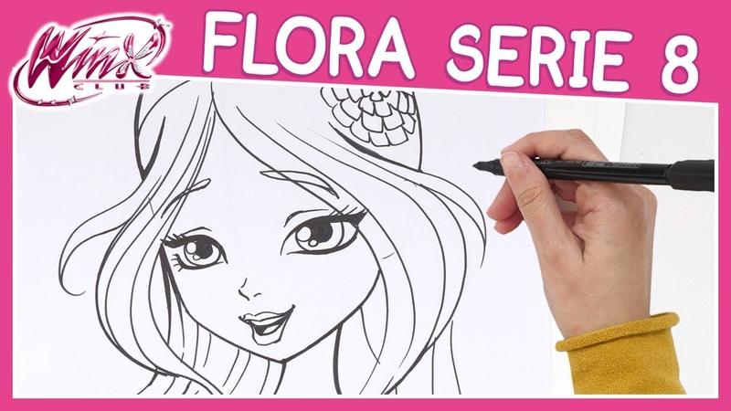 Winx Club Serie 8 Come disegnare Flora TUTORIAL
