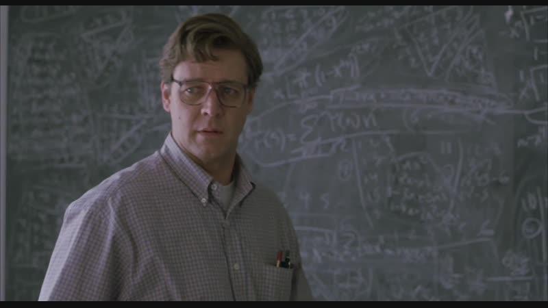 Игры разума A Beautiful Mind 2001 реж Рон Ховард