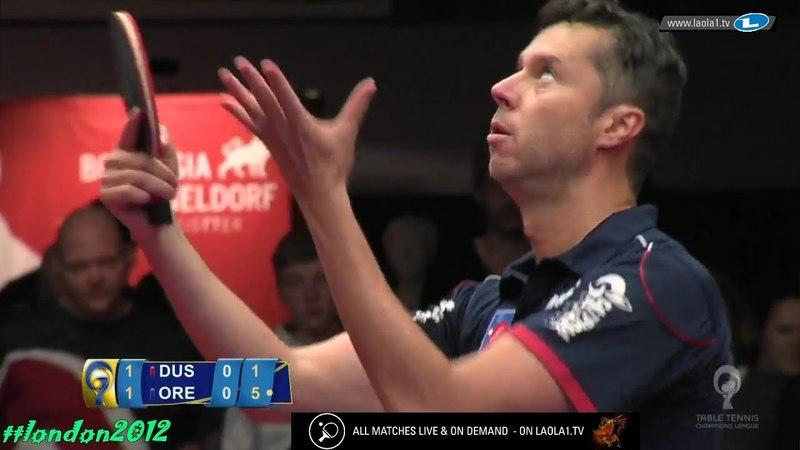 Vladimir Samsonov vs Anton Kallberg Champions League 2018 Final