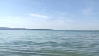 Утро на пляже санатория Солнечная   Геленджик май 2021