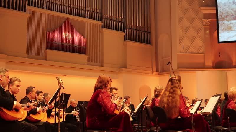 Гуннар Тулубьев в зале Чайковского на концерте оркестра им Осипова и Павла Любимцева