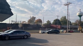Pendleton, Indiana, US—Train collides with semi truck—Oct  9,2020
