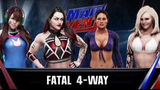 WWE Main Event 2020 (Karen Starr Vs Ivory Vs Abigail Vs )