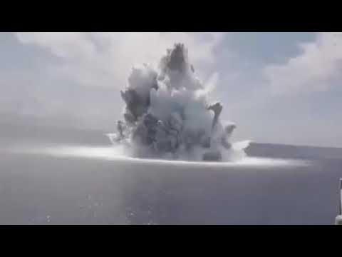 ABD Patlatılan 18 tonluk bomba sonrası 3 9 büyüklüğünde deprem oluşturdu