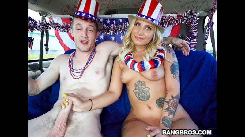 [BangBus] Stella Raee - 4th of July Celebration on The Bus  rq