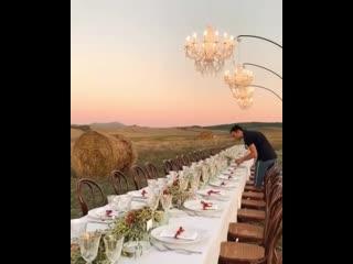Когда из-за пандемии закрыты все рестораны , а замуж хочется) Выход есть