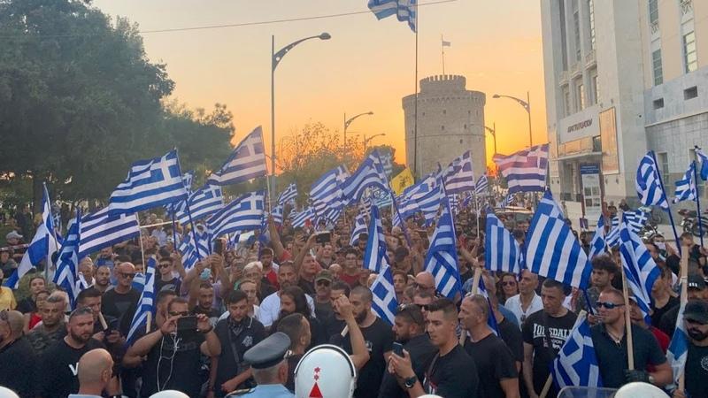 Κασιδιάρης-Θεσσαλονίκη Χιλιάδες ΕΛΛΗΝΕΣ πολιό961
