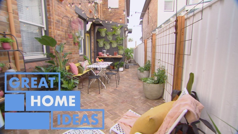 This Courtyard Makeover is FULL of Inspiring Ideas HOME Great Home Ideas