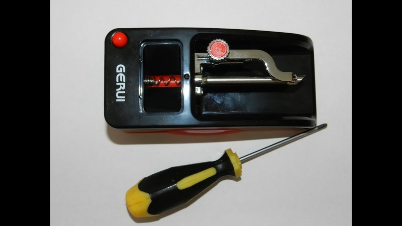 Машинка для набивки сигаретных гильз GERUI (маленькая доработка)