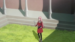 Zero Two hitting a pan for 10 hours