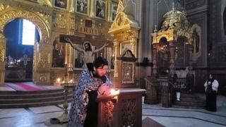 Проповедь иеромонаха Александра на Пассии