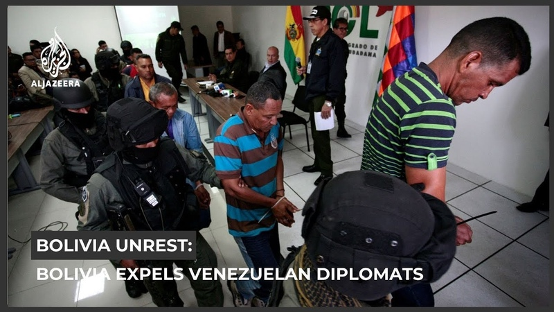 Bolivia expels Venezuelan diplomats amid political crisis
