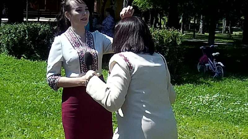 2018г В Лионозовском парке видео съёмка проэкт Пеледыш пайрем
