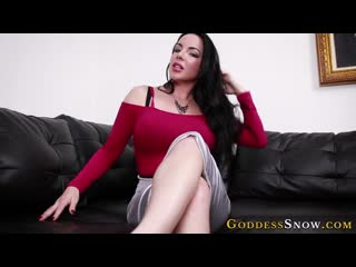 Goddess alexandra snow beautifull humilation cei