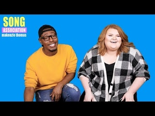 MaKenzie Thomas sings Brandy, Monica, and Celine Dion | SONG ASSOCIATION