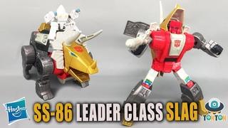 Transformer Movie 1986 Studio Series 86 Leader Class Dinobot Slag Review
