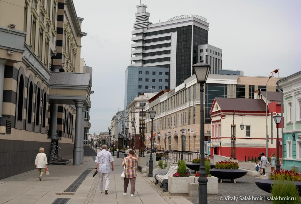 Улица Петербургская –обзор Казани 2020