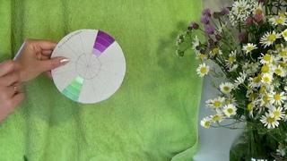 Цвет фона. НОВИНКА! Видео обзор для начинающих художников с Татьяной Букреевой. Background color