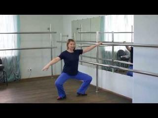 Моя первая училка по балету