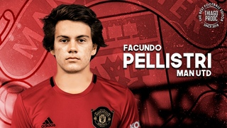 Facundo Pellistri  Welcome to Man United - Crazy Skills, Goals & Assists | 2020 HD