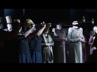 Программы «Царская ложа» о премьере оперы «Аида»