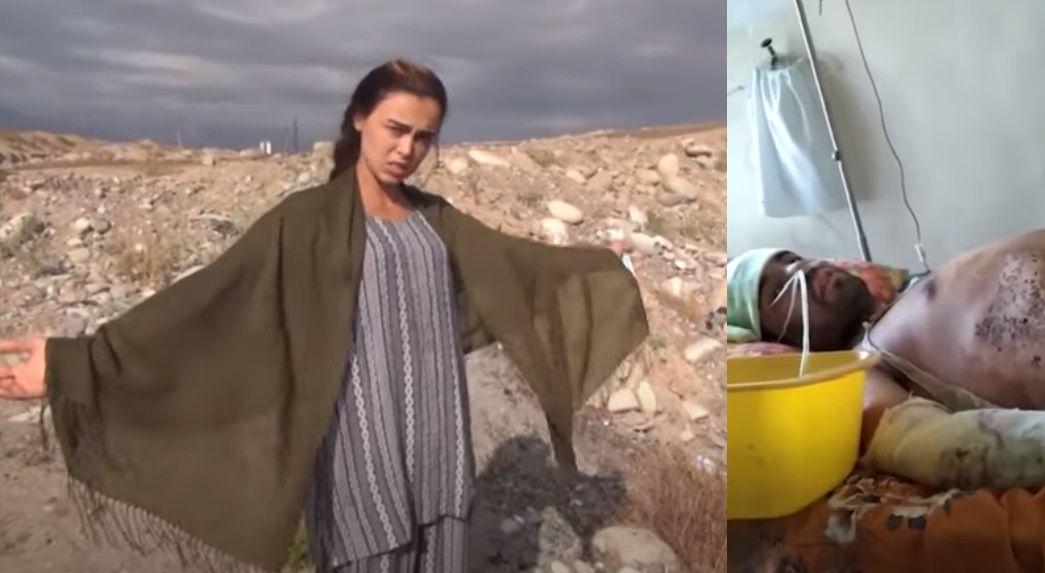 В Таджикистане девушка сожгла своего любимого мужчину? (ВИДЕО)