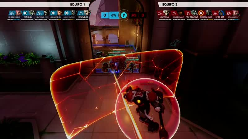 And remember if your Rein can't it's your job to block the Shatter