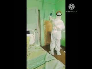 Жительница Кургана Анастасия Пироженко  сделала ролик о работе врачей в коронавирус