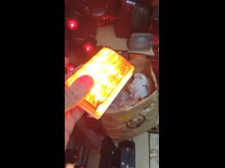 Габаритный фонарь с подсветкой колеса