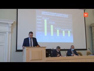 Бюджет Выборгского района утверждён Советом депутатов