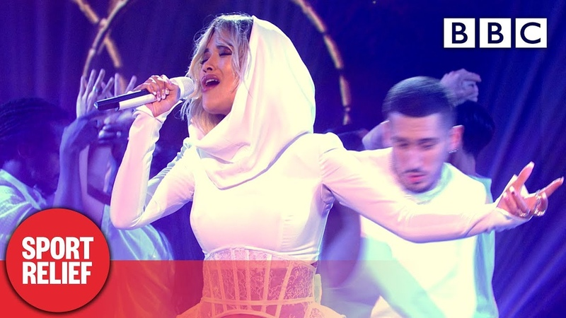 @Rita Ora performs 'How To Be Lonely' live - Sport Relief 2020 | BBC
