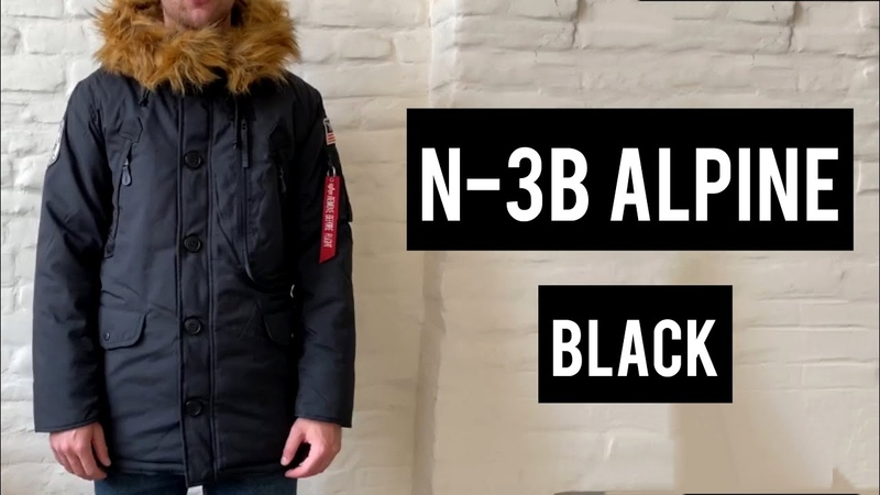 Зимняя парка Alpha Industries N 3B Alpine Polar parka обзор от