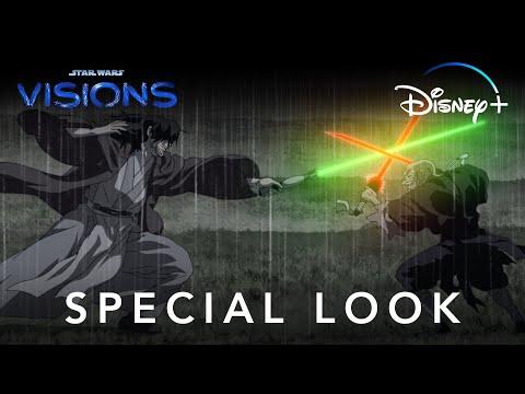 STAR WARS VISIONS SPECIAL LOOK DISNEY