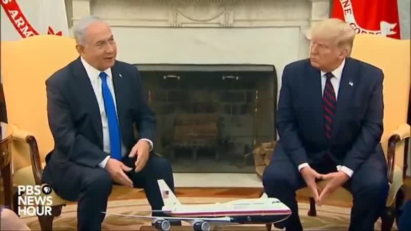 Trump hands The Key To The White House to Bibi
