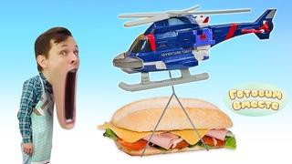 Бутерброды для подзарядки Трансформера - Готовим вместе с Федором! Простой и быстрый рецепт перекуса