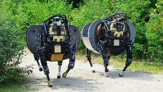 Incredible Video of US Marines Alpha Dog Robot $40 millions