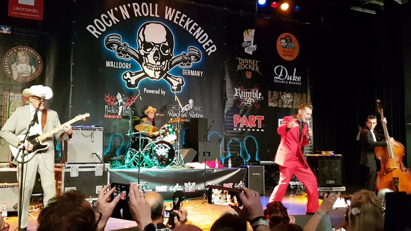 JAMES INTVELD - King Cry Baby Doin Time For Bein Young - Walldorf RocknRoll Weekender 2019