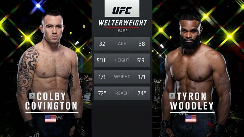 UFC 268 Free Fight Colby Covington vs Tyron Woodley