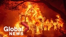California wildfires Glass Fire forces evacuation of hospital homes in Napa Valley