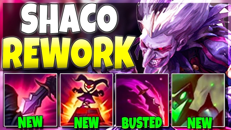 So Riot Reworked SHACO And It's SO GOOD NOW Shaco Rework Gameplay League of Legends