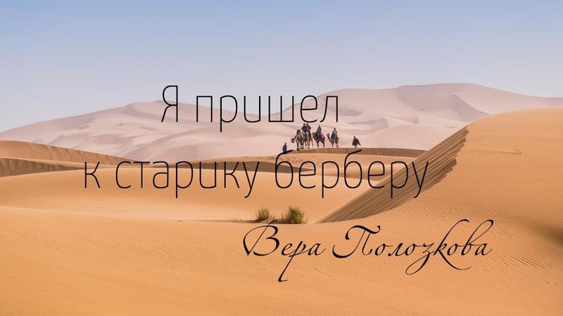Вера Полозкова Я пришел к старику берберу