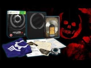 Gears of War 3 - Распаковка коллекционного издания